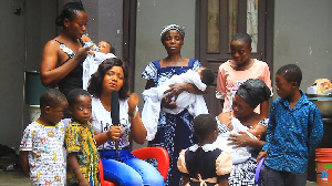 Mother of the late Adwoa Dankwa and her eight grand children