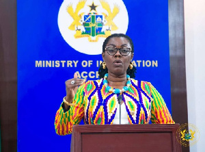 Communications Minister, Ursula Owusu-Ekuful