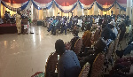 Constituency Chairpersons of the NPP at a two - day conference in Koforidua