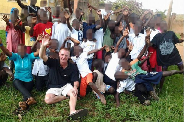 One orphanage was sponsored by donors through Manchester-based builder Patrick Oldham
