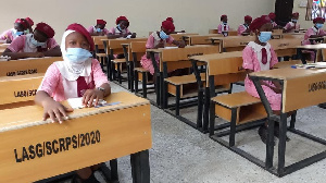 Pupils for one Lagos primary school
