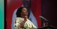 NDC running mate, Professor Jane Naana Opoku-Agyemang