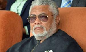 Former President, Flt. Lt. Jerry John Rawlings