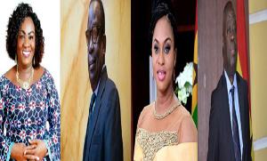 Mavis Hawa Koomson, Albert Kan Dapaah, Sarah Adwoa Safo, Ibrahim Awal Mohammed