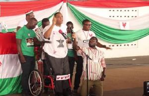 Ivor Kobina Greenstreet is the flagbearer of the CPP