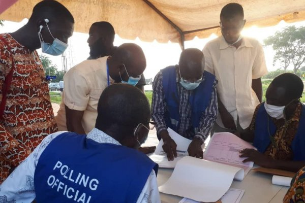 Special Voting ends peacefully at Dome-Kwabenya Constituency