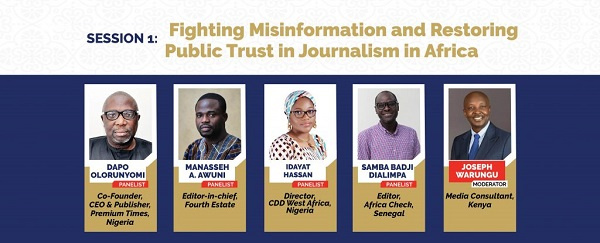 WAMECA 2021: Session 1 – Fighting misinformation and restoring public trust in journalism in Africa