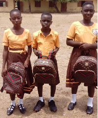 File photo: Some primary school students