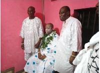 Dr Kelvin Nii Tackie Abia Tackie, newly installed Ga Mantse