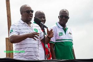 John Mahama Campaigns NDC