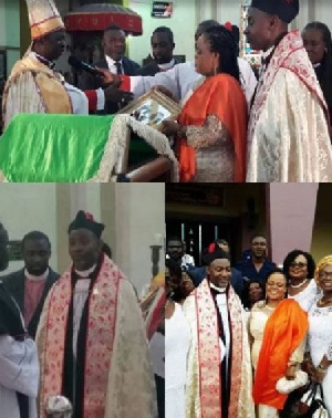 Dr Tetteh, who is also an economist, was appointed Honorary Canon of the Anglican Church