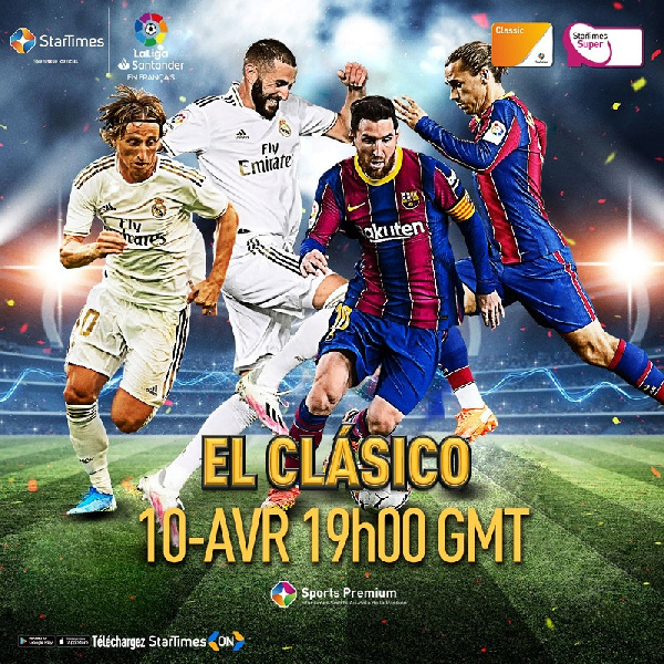 Real looking ahead to El Clásico on StarTimes