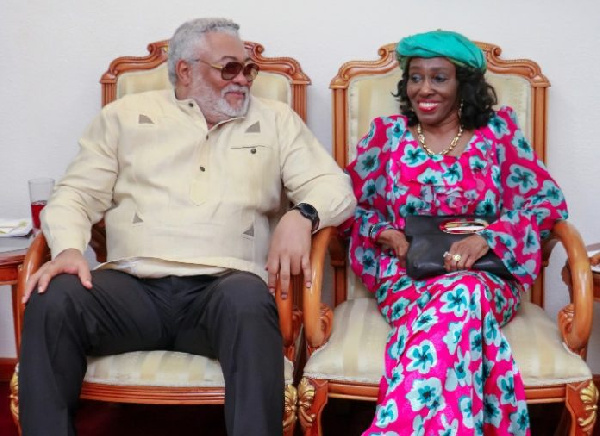 Jerry, I know God created us for each other – Konadu's tribute to Rawlings