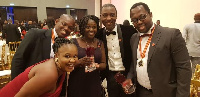 Staff of Premier Health Insurance could not hide their excitement after receiving their awards