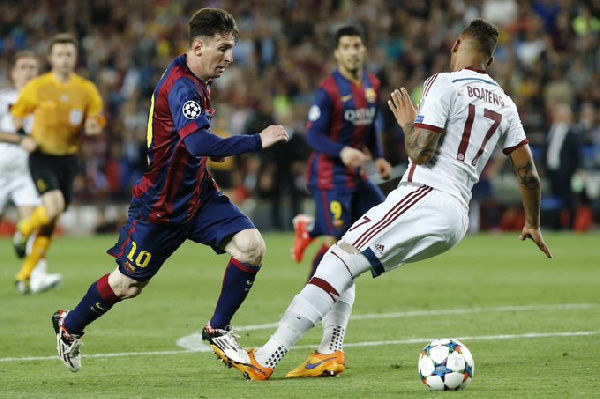 Boateng on Messi\'s nutmeg: I\'ll get some popcorn and watch the 2014 World Cup final