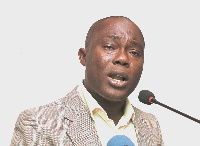 Associate Professor of Political Science at the University of Ghana, Ransford  Gyampo