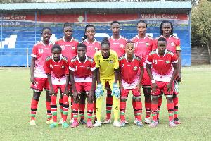 The Kenyan Women's Team
