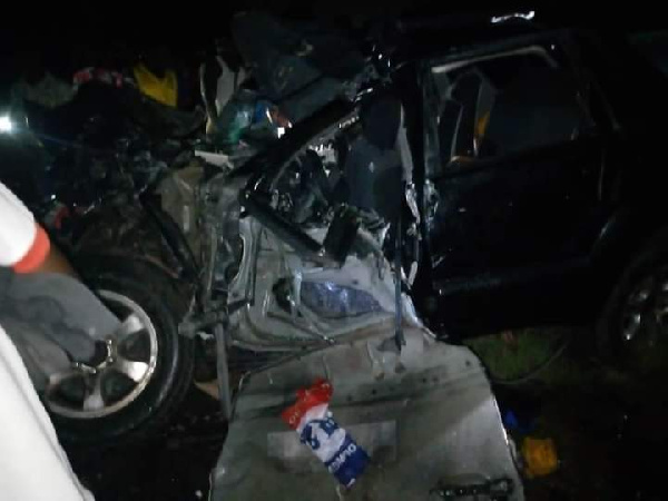 Breaking: NPP Parliamentary Candidate, Abu Kamara dies in a car crash 1
