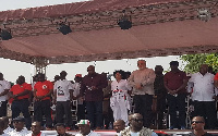 The event brought together the rank and file of the NDC as well as party stalwarts