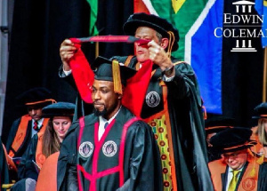 Theophilus Edwin Coleman now has a PhD in Law
