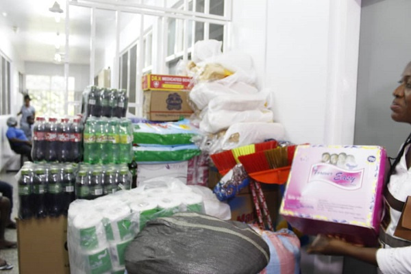 Some of the items which were donated to the unit