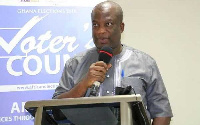 Dr Serebour Quaicoe, Director of Electoral Services at the Electoral Commission of Ghana