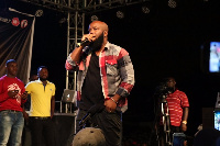 Trigmatic was the thrilled the audience with the YFM crew