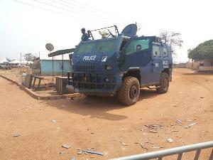Damaged Vechicle Police