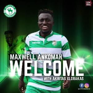 Ghanaian midfielder Maxwell Ankomah
