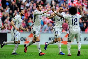 Real Madrid have a 2-1 advantage