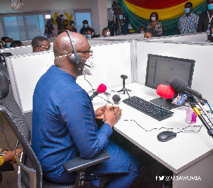 Dr Bawumia is Chairman of Ghana's COVID-19 Monitoring Team