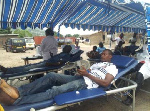 Some blood donors