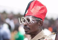 Bob Okala at Ghana's 59th Independence Parade
