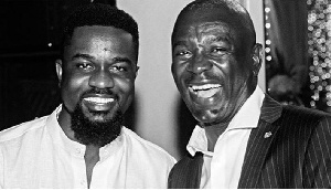 Sarkodie and Mr Kofi Amoabeng