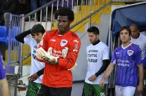 Goalkeeper Razak Braimah