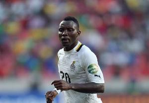 Ghana international Kwadwo Asamoah