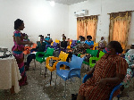 Some participants of the Basic Foundation for Women Empowerment training