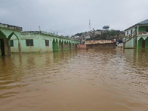 Most places in the capital get flooded whenever there is a downpour
