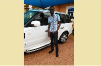 Mmebusem with his new Range Rover