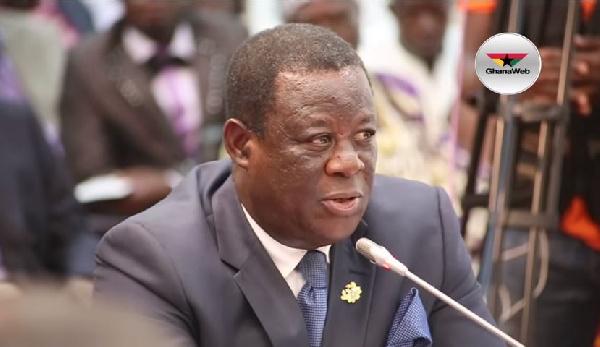 Minister of Roads and Highways, Kwesi Amoako-Atta