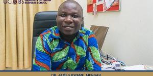 Dr. James Kwame Mensah, Lecturer at University of Ghana