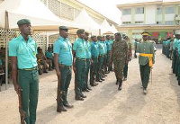Ghana Immigration Service personnel