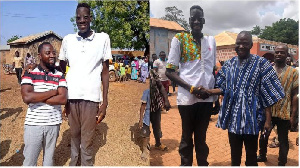 Could the 27-year-old Awuche be Ghana's tallest man?