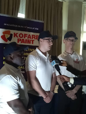 KOFARB Ghana Limited CEO, Jacob Gbati