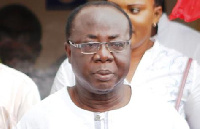 Freddie Blay, Acting Chairman of the governing New Patriotic Party (NPP)