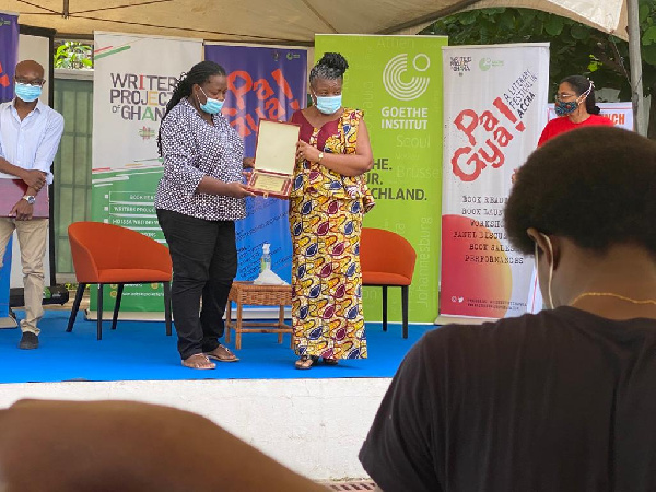 Hannah Owusu-Koranteng wins Writers Project of Ghana award