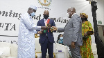 President Akufo-Addo officially handing over the AfCFTA Secretariat to the AU