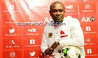 CK Akonnor, coach of Kumasi Asante Kotoko