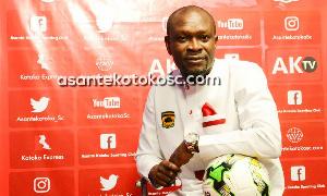 CK Akonnor, head coach of Asante Kotoko