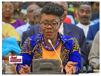 Communication Minister, Ursula Owusu-Ekuful